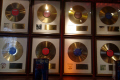 gold records rolling stones sticky fingers wyman restaurant phillimore gardens london music musicians musical arts pop cockney england english angleterre inghilterra inglaterra united kingdom british