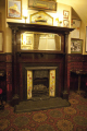 white star pub centre liverpool fireplace mirror north west northwest england english titanic bar drinking scouse merseyside angleterre inghilterra inglaterra united kingdom british