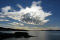 strange light southern sky. albany western australia clouds sky natural history nature sunset australian