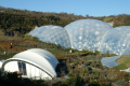 eden project rainforest biomes events stage tourist attractions england english botanical garden attraction architectural geodesic dome cornish cornwall angleterre inghilterra inglaterra united kingdom british