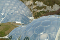 eden project biomes tourist attractions england english botanical garden attraction architectural geodesic dome cornish cornwall angleterre inghilterra inglaterra united kingdom british