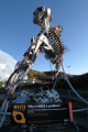 eden project weee man sculpture 3.3 3 3 33 tonnes waste electrical electronic equipment tourist attractions england english bodelva cornwall pl242sg cornish angleterre inghilterra inglaterra united kingdom british