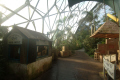 eden project buildings inside rainforest biome tourist attractions england english botanical garden attraction architectural geodesic dome cornish cornwall angleterre inghilterra inglaterra united kingdom british