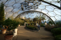 eden project mediterranean biome tourist attractions england english botanical garden attraction architectural geodesic dome cornish cornwall angleterre inghilterra inglaterra united kingdom british