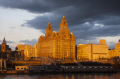 liverbuilding liverpool sunset albert dock harbour harbor uk coastline coastal environmental warm river mersey city merseyside scouse england english angleterre inghilterra inglaterra united kingdom british
