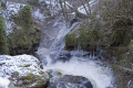 gimel-les-cascades gimel les cascades gimellescascades upper falls winter french landscapes european corr ze correze forest france pays-de-tulle pays de tulle paysdetulle valley limousin wintery snow waterfall la francia frankreich