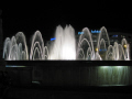 barcelona fountains pla catalunya catalonia spanish espana european espagne espa cascades floodlit place plaza spain spanien la spagna