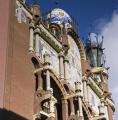 barcelona palau la musica catalana architect domenech montaner catalunya catalonia spanish espana european palace music espagne espa architecture modernism modernismo spain spanien spagna