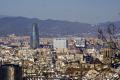 barcelona torre agbar taken montju funicular railway catalunya catalonia spanish espana european espagne espa cityscape spain spanien la spagna