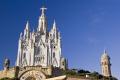 barcelona temple expiatori del sagrat cor tibidabo catalunya catalonia spanish espana european catedral esgl sia church gothic gotico espagne espa spain spanien la spagna
