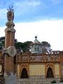 barcelona gaudi pavellons ell catalunya catalonia spanish espana european espagne espa street avenue architecture modernism modernismo finca spain spanien la spagna