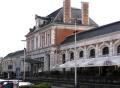brive le gaillarde station. french buildings european gare railway chemin fer sncf track signals paris parisienne france la francia frankreich