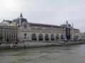 paris art gallery mus orsay south bank river seine french buildings european france parisienne rembrant van gogh cezanne monet surat impressionism impressionist la francia frankreich