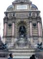 paris fontaine saint michel place st french buildings european france parisienne left bank latin quarter la francia frankreich