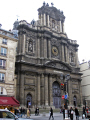 paris church saint-paul-saint-louis saint paul saint louis saintpaulsaintlouis rue saint-antoine saint antoine saintantoine french buildings european france catholic religious religion eglise parisienne la francia frankreich