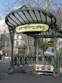 abbesses station paris surviving art nouveau entrance canopies metro french buildings european metropolitain france parisienne underground public transport railway la francia frankreich