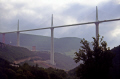 france tarn river gorge millau viaduct stages construction french landscapes european midi pyrenees la francia frankreich