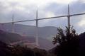 france tarn river gorge millau viaduct stages construction french landscapes european midi pyrenees la francia frankreich