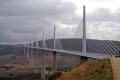 france millau viaduct spanning tarn river gorge french buildings european midi pyrenees la francia frankreich