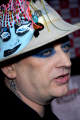 boy george singer culture club gay icon british 80 bands eighties musicians celebrities celebrity fame famous star white caucasian portraits