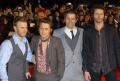 english vocal pop group gary barlow howard donald jason orange mark owen boy bands groups stars musicians celebrities celebrity fame famous star white caucasian portraits