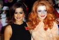 cheryl cole nicola roberts girls aloud british girl bands groups female singers divas pop stars musicians celebrities celebrity fame famous star white caucasian portraits