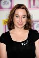 isy suttie stand comedienne writer actress. best known playing dobby british sitcom peep english actresses england female thespian acting celebrities celebrity fame famous star females white caucasian portraits