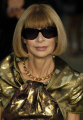 anna wintour british-born british born britishborn editor-in-chief editor in chief editorinchief american vogue british authors writers writer celebrities celebrity fame famous star white caucasian portraits