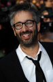 david baddiel english comedian novelist television presenter jewish roots usually frank skinner double act comedians comedic funny laughter humour humor performers celebrities celebrity fame famous star males white caucasian portraits