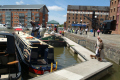 arts crafts centre gloucester docks canal boats marine gloucestershire england english angleterre inghilterra inglaterra united kingdom british