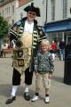 town crier boy cheltenham costumes costumed gloucestershire england english angleterre inghilterra inglaterra united kingdom british