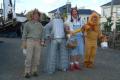 characters wizard oz costumes costumed united kingdom british