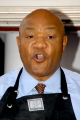 george foreman american two-time two time twotime world heavyweight boxing champion olympic gold medalist ordained baptist minister sport sporting celebrities celebrity fame famous star negroes black ethnic portraits