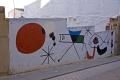 tarragona region spain street art al la joan mir spotted hilltop village mont roig del camp murals arts catalonia catalunya espagne espa spanish artistic miro kandinsky contemporary modern costa brava spanien spagna