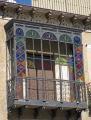spanish city tarragona attractive iron balcony costa dorada mediterranean catalunya catalonia espana european espagne espa modernism art deco daurada durada brava spain spanien la spagna