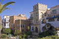 spain tarragona region pretty village roc sant gaiet costa dorada mediterranean catalunya catalonia spanish espana european espagne espa bay holiday vacation daurada durada brava spanien la spagna