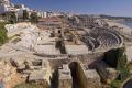 spanish city tarragona roman amphitheatre costa dorada mediterranean catalunya catalonia espana european espagne espa anfiteatro romano archeology ruins excavation daurada durada brava spain spanien la spagna