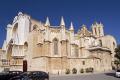spanish city tarragona cathedral santa tecla costa dorada mediterranean catalunya catalonia espana european iglesia esgl sia church espagne espa religious catholic daurada durada catedral brava spain spanien la spagna