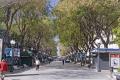 spanish city tarragona avenue rambla nova costa dorada mediterranean catalunya catalonia espana european espagne espa pavement cafe bistro pizzeria daurada durada brava spain spanien la spagna