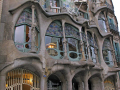 close gaudi casa batll barcelona. catalunya catalonia spanish espana european espagne espa architecture modernism modernismo costa brava spain spanien la spagna