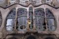 lower window gaudi casa batll barcelona. catalunya catalonia spanish espana european espagne espa architecture modernism modernismo costa brava spain spanien la spagna