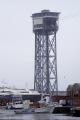 barcelona cable car tower torre san sebastia catalunya catalonia spanish espana european espagne espa harbour haven marine maritime marina port puerto teleferic montju costa brava spain spanien la spagna