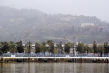 barcelona view montjuic harbour catalunya catalonia spanish espana european espagne espa haven marine maritime marina port puerto costa brava spain spanien la spagna