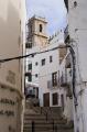pe iscola spain labyrinthine old town spanish espana european espagne espa bay holiday vacation mediterranean valencia valenciana castell costa del azahar peniscola spanien la spagna