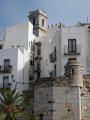 pe iscola spain houses old town spanish espana european espagne espa bay holiday vacation mediterranean valencia castell costa del azahar valenciana peniscola spanien la spagna