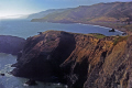 typical coastline golden gate recreation area north san francisco. distance rodeo beach fort cronkhite francisco california american yankee bay marin peninsula county headlands state park californian united states