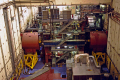 inside target buildings stanford linear accelerator university california american yankee slac klystron particle physics beam positron collider hadron nuclear sub atomic synchrotron quark boson electron californian united states