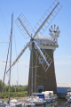 horsey norfolk uk historical britain history science boats summer england river wind pump broads english angleterre inghilterra inglaterra united kingdom british