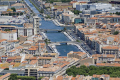 languedoc france town te taken mont st clair looking east canal du rh ne french landscapes european herault montpellier mediterranean roussillon la francia frankreich