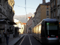 grenoble france french european alpine mountains rh ne alpes town city tram rapid transit transportion la francia frankreich